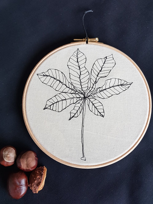"""Leaf 7"""" Hoop"""