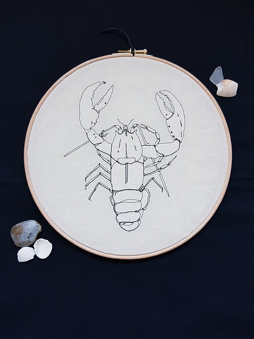 "Lobster 10"" Hoop"