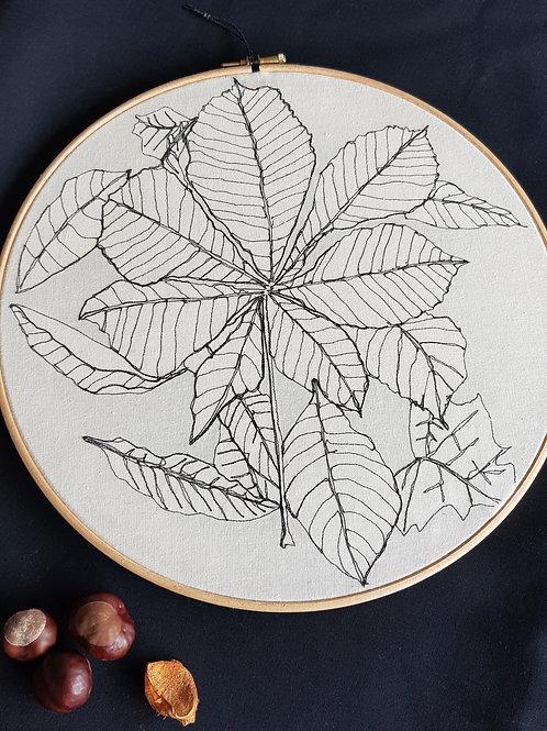 """Leaf 12"""" Hoop"""
