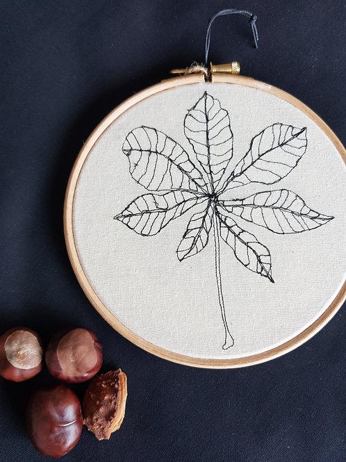 """Leaf 6"""" Hoop"""