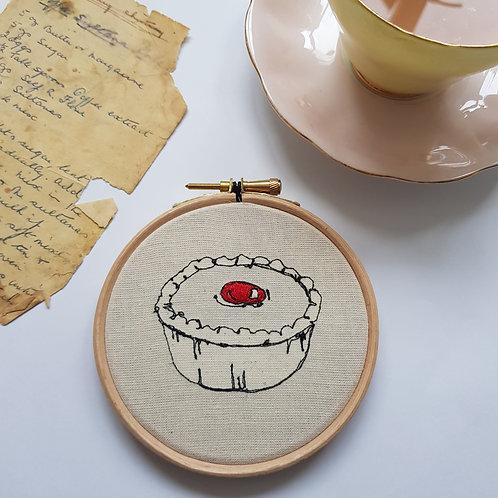 "Cherry Bakewell 4"" hoop"