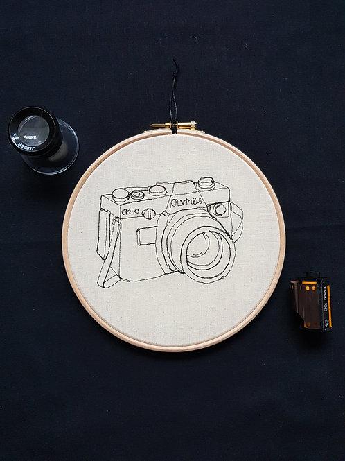 """OM-10 Camera 7"""" Hoop"""