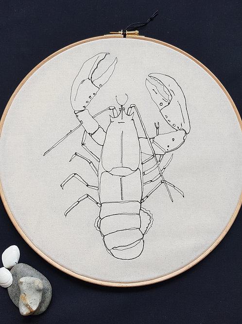 """Lobster 12"""" Hoop"""