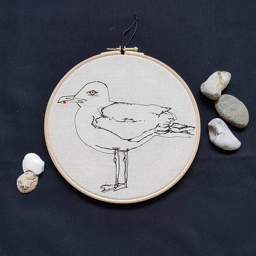 """Herring gull 7"""" Hoop"""