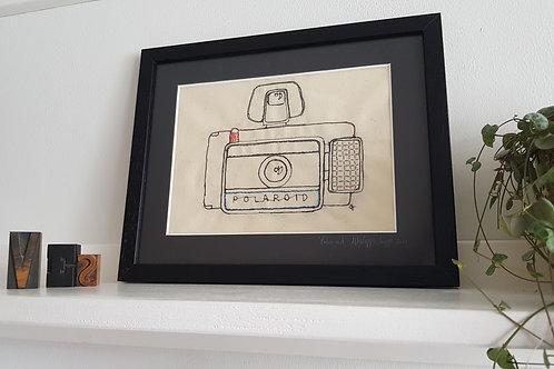 Vintage Polaroid Camera A4