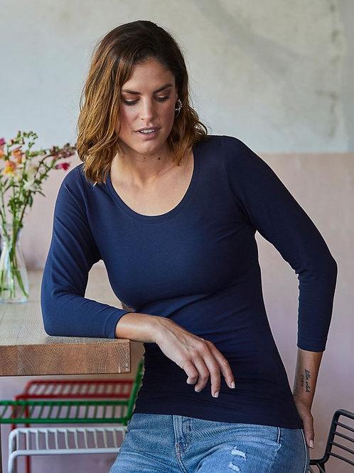 Tee Jays 460 Ženska Stretch T-Shirt 3/4 Rokavi