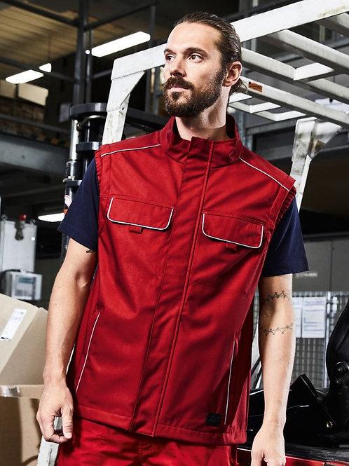 James & Nicholson JN 881 Workwear Softshell light Vest - Solid
