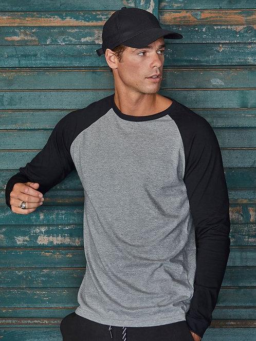 Tee Jays 5072 Moška Baseball T-Shirt long-sleeve