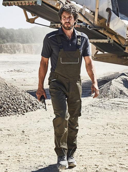 James & Nicholson JN 879 Workwear Bib Pants - Solid