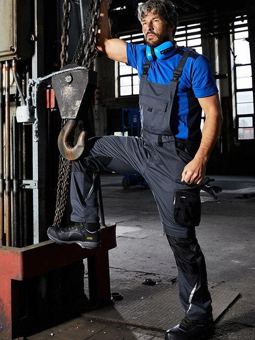 James & Nicholson JN 1833 Workwear Pants with Bib - Strong