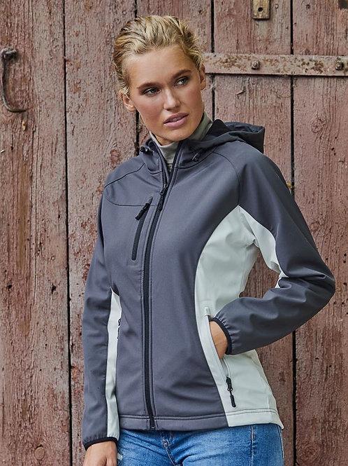 Tee Jays 9515 Ženska Hooded 3-Layer Softshell Jacket