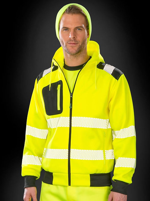 Result R503X Safety Hooded Sweat Jacket