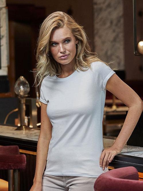 Tee Jays 5063 Ženska T-Shirt with z zavihanimi rokavi