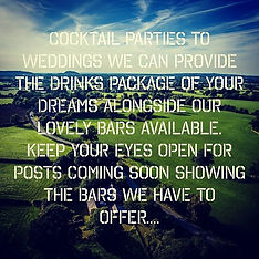 Contact us for information on our drinks