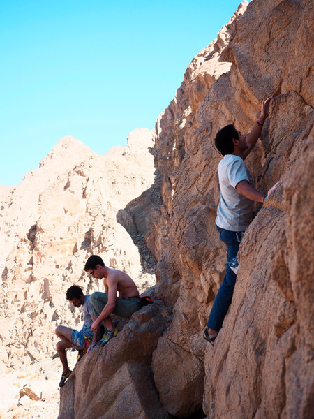 Climbing Sinai