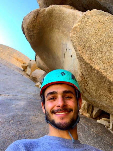 Scouting at Gabal Abu Silai'i