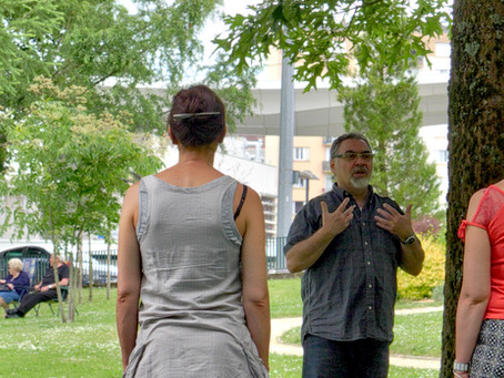Sophrologie en plein air avec Namaste Limoges