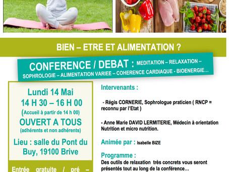 Conférence : Alimentation & Cohérence Cardiaque