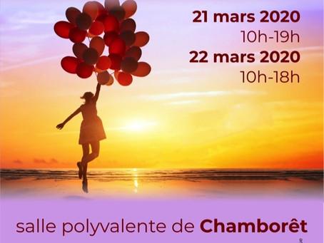 Salon du Bien-être à Chamborêt