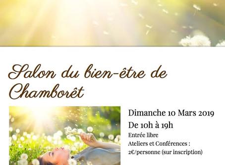 Salon du Bien Etre à Chamborêt