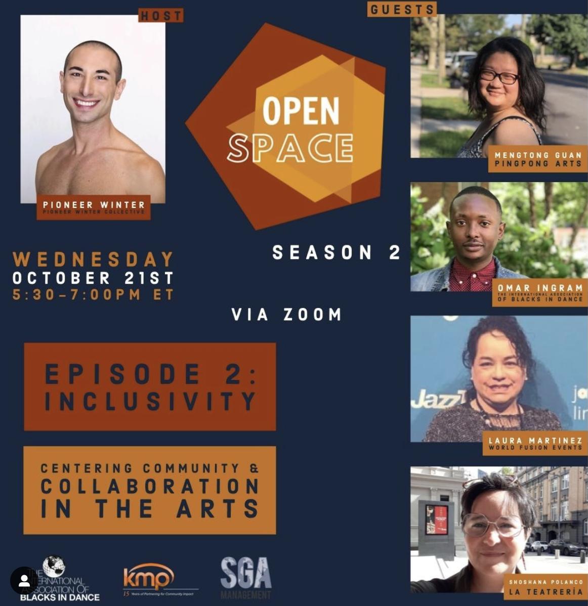 Season 2 Episode 2: InclUSivity: Centering Community and Collaboration in the Arts