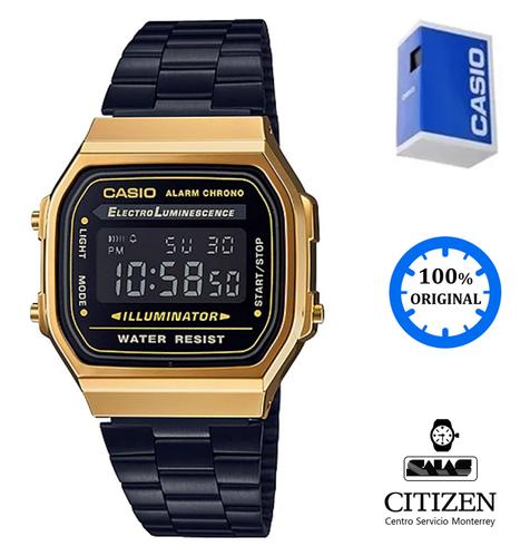 ca3694035d8e Reloj Casio Vintage A168 Unisex Negro