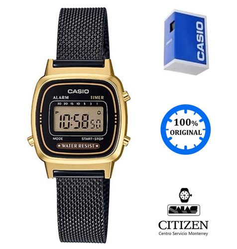 8a7a14c85f2e Reloj Casio Vintage La670 Mujer Negro