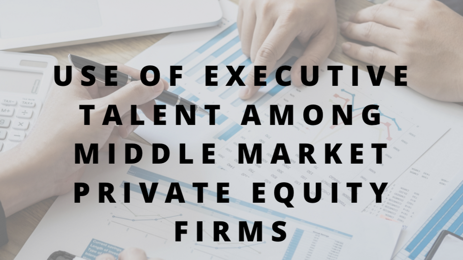 Do Private Equity Firms Prefer In-House Talent?