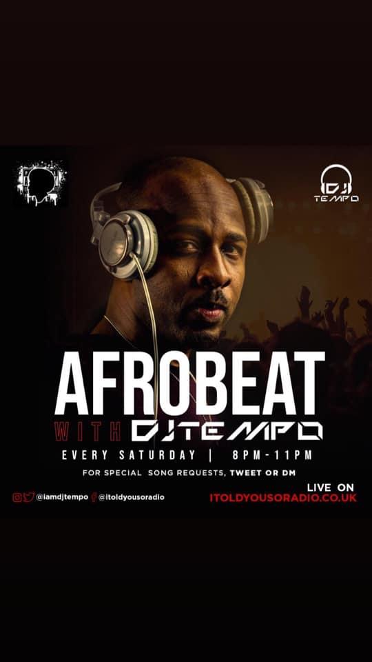 DJ Tempo with Oluwa FM