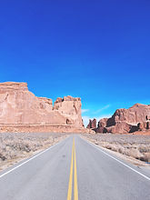 Arches National Park - Road
