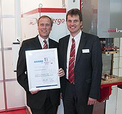 conntronic bekommt Innovationspreis auf der EuroBlech 2014 in Hannover