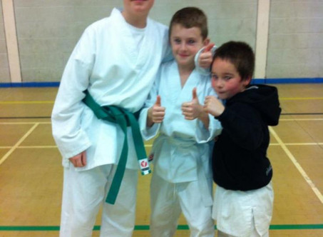 Rhys - B-SMART's Amazing Black Belt Student