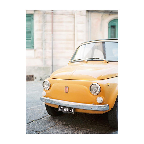 Tropea alley with Fiat 500 - No. 02