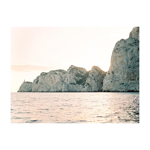 Capri from the Sea - No 02