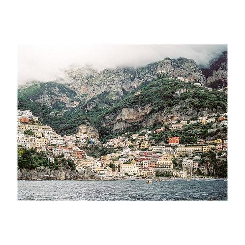 Moody day in Positano