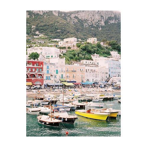 Capri from the Sea - No 05
