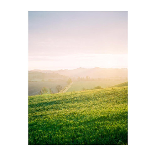Ethereal Sunrise in the Tuscany Hills - No. 02