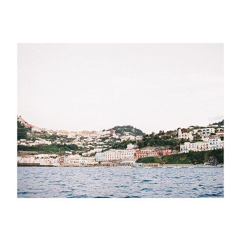 Capri from the Sea - No 03