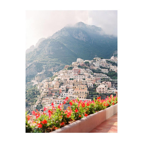 The vertical architechture of Positano - No 02