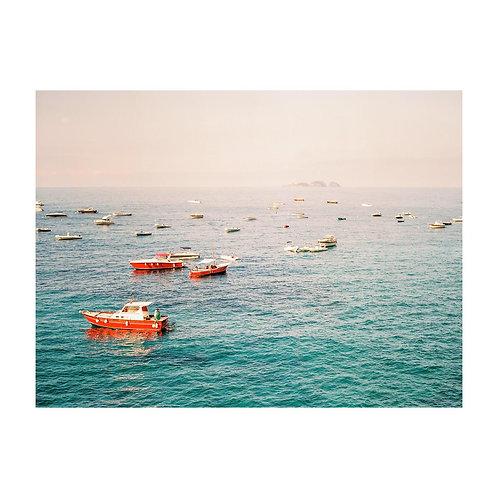Boats in Positano