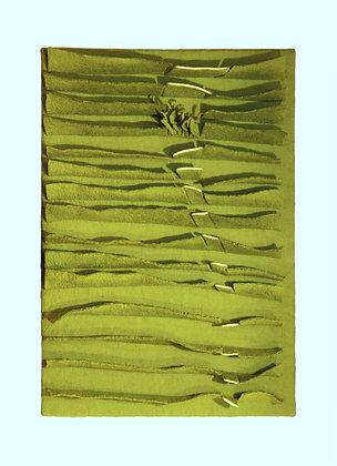 """Quadro """"les vagues de blé"""""""