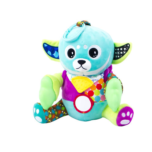 Teether Plush Sensory Toy- Glow in the Dark