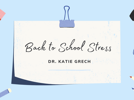 It's Back to School Time! How Stressed is your Family Feeling??
