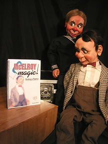 McElroy Magic, Building a Replica! Greg Claassen ventriloquist