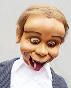 Greg Claassen's McElroy Ventriloquist Figure
