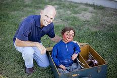 Greg Claassen ventriloquist McElroy figure