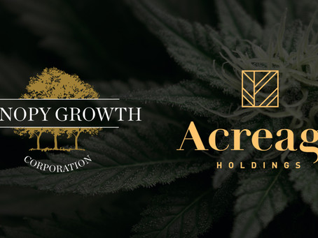 Acreage Shareholders Approve Amended Arrangement Involving Canopy Growth