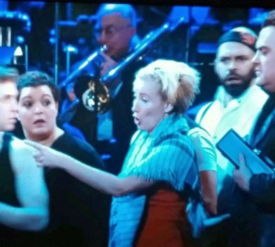With Emma Thompson in SWEENEY TODD — Live at Lincoln Center