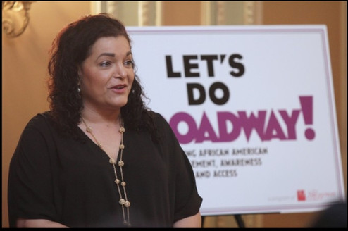 """Panelist for """"Let's Do Broadway! Inspiring African American Engagement, Awareness and Access"""""""