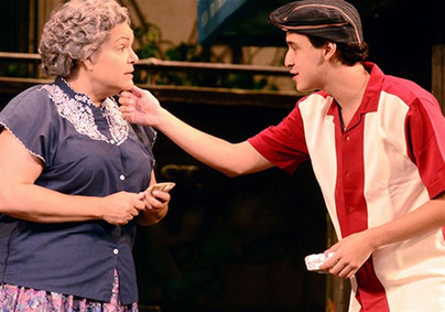 As Abuela Claudia, with Joshua Grosso — IN THE HEIGHTS, Pittsburgh CLO